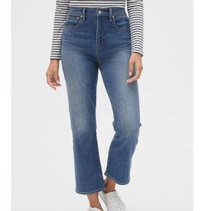 High Rise Crop Boot Jeans GAP, size 26 NWT